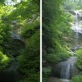 Photos: 滝(水なし・水あり)