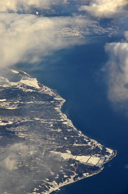 写真00173 陸奥湾と海上自衛隊大湊基地