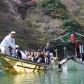 Photos: 写真00294 保津川下りとコンビニ船