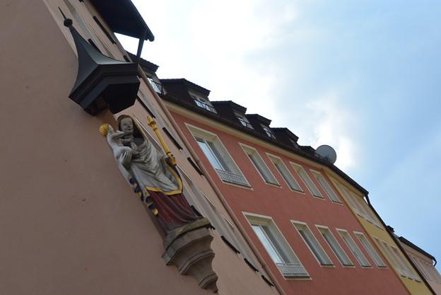 ニュルンベルクの家の角