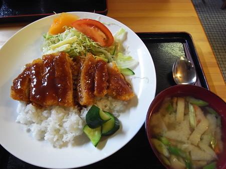 和可山食堂 ソースカツ丼 汁付き