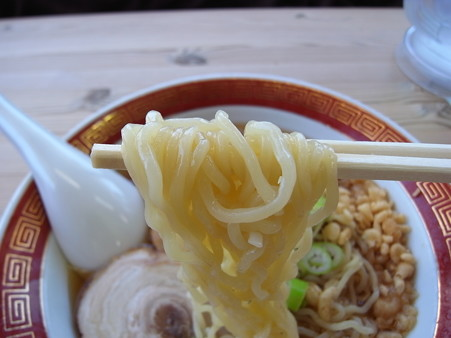 ラーメンのこじま 冷やしらーめん(夏季限定) 麺アップ2