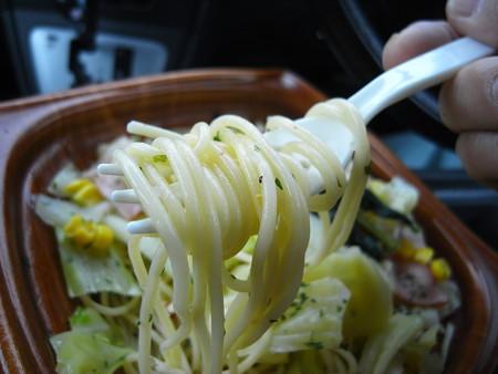 デイリーヤマザキ 1日の1/3分野菜が摂れるペペロンチーノ パスタアップ