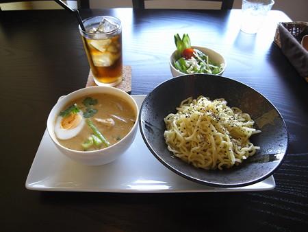 Tiki グリーンカレーつけ麺(夏季限定)ランチセットA ¥1000