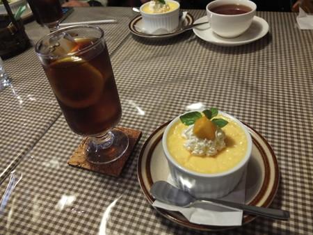 レストラン ココット アイスティー&プリン