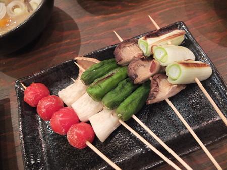 浜焼太郎 上越高田店 合わせ10本盛り(野菜串のみ)¥1289