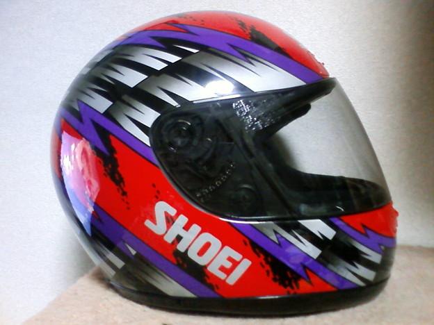 新しいヘルメット