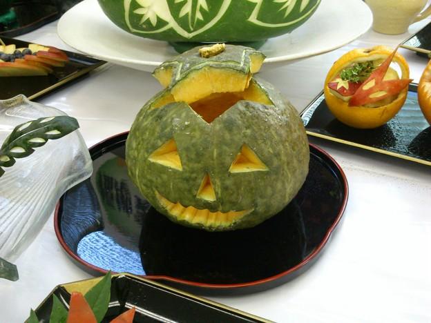 かぼちゃが・・・。