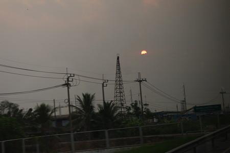 バンコクの日の出