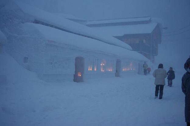 写真: 雪旅篭