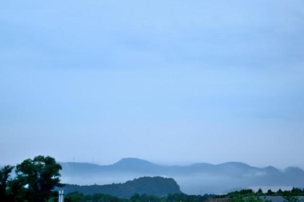 Morning view朝景 朝もや