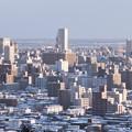写真: 札幌、冬の朝#1