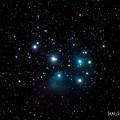 写真: 2013.12/27M45プレアデス星団(IMG_0937)青強調