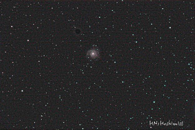 うお座の渦巻き銀河 M74 (IMG_1231)