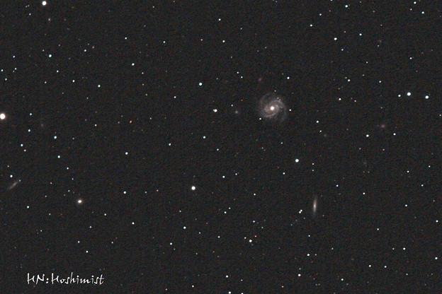 おとめ座の渦巻き銀河M100(IMG_5610) 2014.03/27