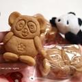 写真: 上野といえばパンダ焼き。