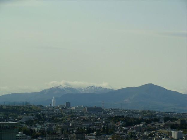 船形山と泉ヶ岳