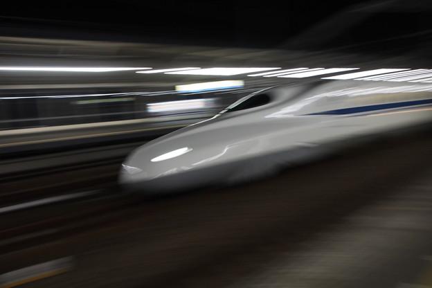 福山駅新幹線ホームより