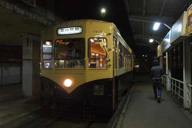 富山地方鉄道市電 レトロ電車
