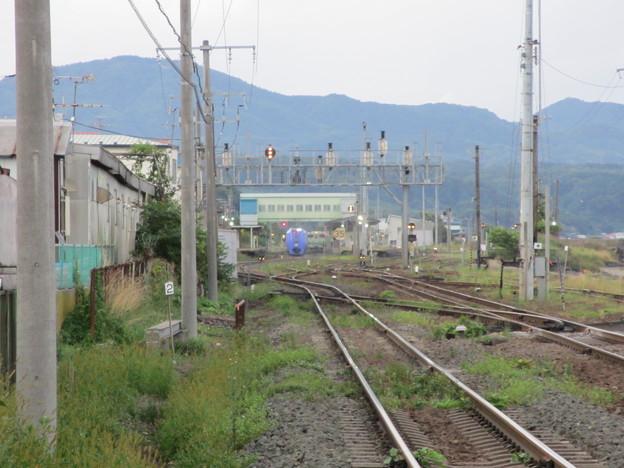 森駅 2番線 停止