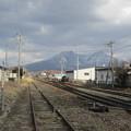 曇りの駒ヶ岳