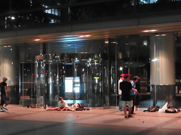 名古屋の夜の一コマ