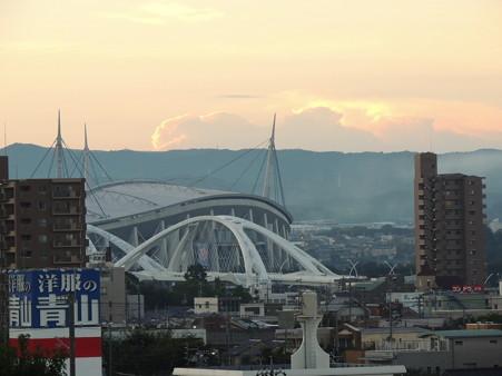 夜明け前の豊田市街