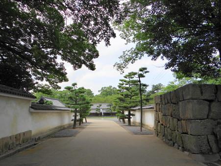 丸亀城の白塀