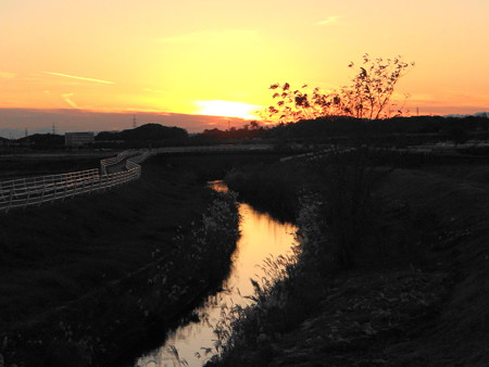 20121201夕景