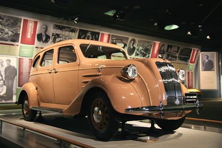 トヨタ鞍ヶ池記念館:トヨダAA型セダン