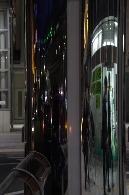 豊田市の夜景:街角
