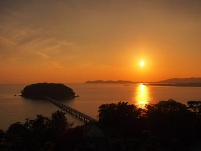 記念日の夕陽
