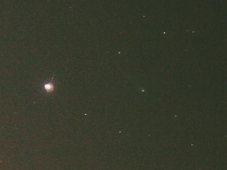 12月15日のラブジョイ彗星
