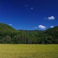 Photos: 大地の青い空
