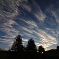 写真: 雲の流れ・美瑛