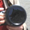 写真: レンズが捉えた城