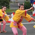 写真: 雀踊りのお嬢さん