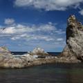 写真: 静と動の浄土ヶ浜