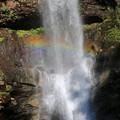 写真: 虹瀑布
