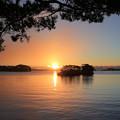 松島に陽が昇る