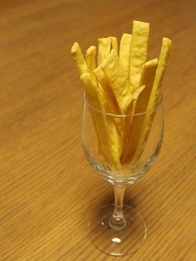 お芋のプリッツ。