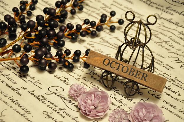 アイアンのBear..★.:*(October)