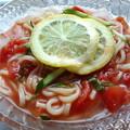 Photos: トマト冷やしうどん。