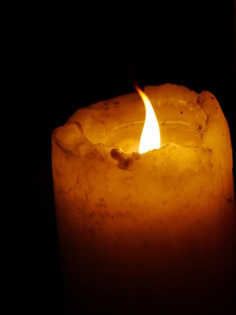 Photos: 蝋燭の灯