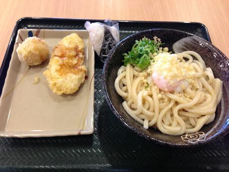 千歳空港で丸亀製麺