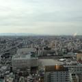 写真: 通天閣展望台から南方向