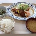 写真: トリプルグリル定食