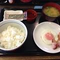 写真: 20130823朝食