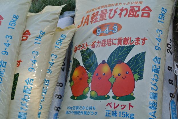 Photos: びわ専用配合肥料