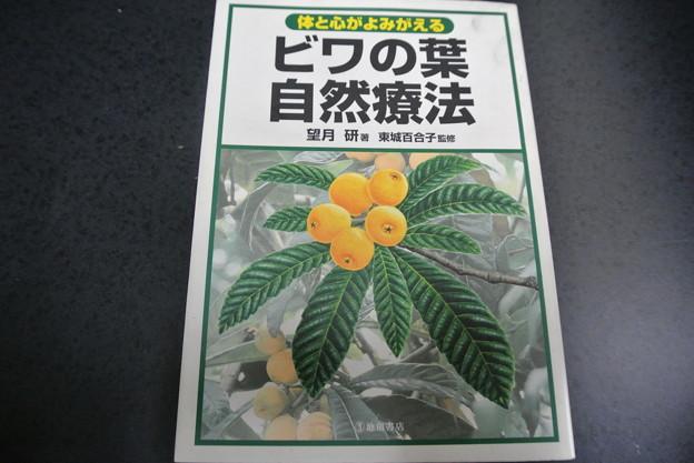 Photos: びわの葉の自然療法の本